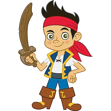 RoomMates® Jake and the Neverland Pirates Jake Peel and Stick Giant Wall Decal, 18in. x 40in.
