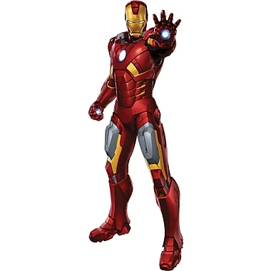 RoomMates® The Avengers™ Iron Man Peel and Stick Giant Wall Decal, 18in. x 40in.