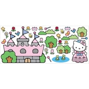 "RoomMates® Hello Kitty Princess Castle Peel and Stick Giant Wall Decal, 18"" x 40"""