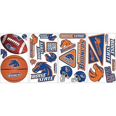 RoomMates® Boise State University™ Peel and Stick Wall Decal, 10in. x 18in.