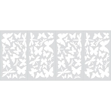 RoomMates® Butterflies and Dragonflies Glow in the Dark Wall Decal, 10in. x 18in.