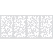 RoomMates® Butterflies and Dragonflies Glow in the Dark Wall Decal, 10 x 18