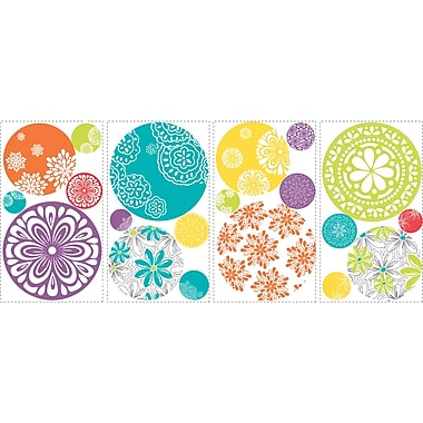 RoomMates® Patterned Dots Peel and Stick Wall Decal, 10