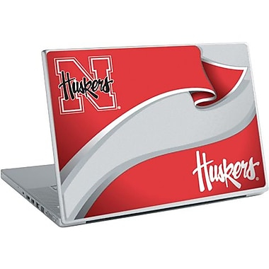 RoomMates® University of Nebraska™ Peel and Stick Laptop Wear, 10 2/7in. H x 14 1/4in. W