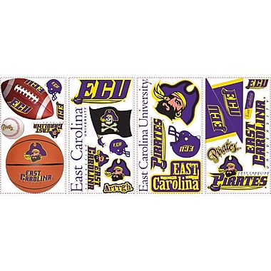 RoomMates® East Carolina University® Peel and Stick Wall Decal, 10in. x 18in.
