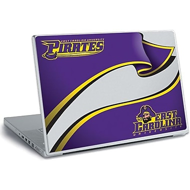 RoomMates® East Carolina University® Peel and Stick Laptop Wear, 10 2/7in. H x 14 1/4in. W