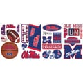 RoomMates® University of Mississippi® Peel and Stick Wall Decal, 10in. x 18in.