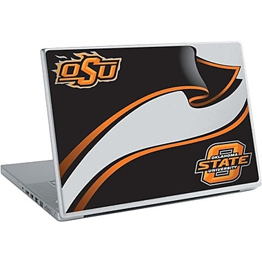 RoomMates® Oklahoma State University® Peel and Stick Laptop Wear, 10 2/7in. H x 14 1/4in. W