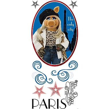 RoomMates® The Muppets Miss Piggy Peel and Stick Giant Wall Decal, 18in. x 40in.