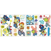 RoomMates® Spongebob Squarepants Skaters Peel and Stick Wall Decal, 10 x 18