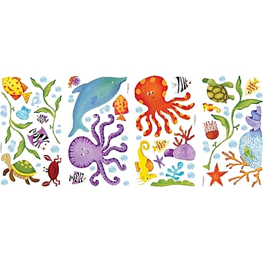 RoomMates® Adventures Under the Sea Peel and Stick Wall Decal, 10in. x 18in.