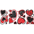 RoomMates® Mod Hearts Peel and Stick Wall Decal, 10in. x 18in.