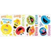 RoomMates® Sesame Street Scribble Peel and Stick Wall Decal, 10 x 18