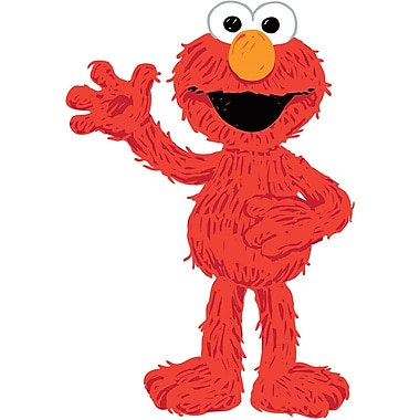 RoomMates® Elmo Loves You Peel and Stick Giant Wall Decal, 18