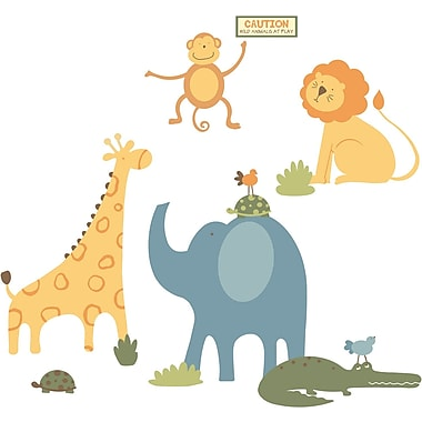 RoomMates® Zoo Animals Peel and Stick Giant Wall Decal, 27in. x 40in.