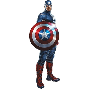 RoomMates® The Avengers™ Captain America Peel and Stick Giant Wall Decal, 18in. x 40in.