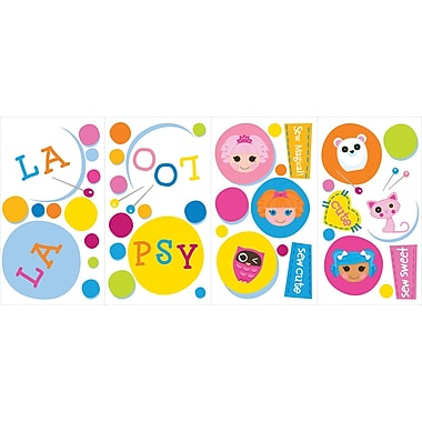 RoomMates® Lalaloopsy Polka Dots Peel and Stick Wall Decal, 10in. x 18in.