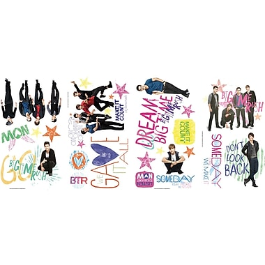 RoomMates® Big Time Rush Peel and Stick Wall Decal, 10in. x 18in.