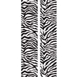 RoomMates® Black and White Zebra Locker Peel and Stick Wall Decal, 8 3/5in. x 40in.