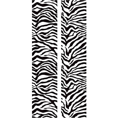 RoomMates® Black and White Zebra Locker Peel and Stick Wall Decal, 8 3/5