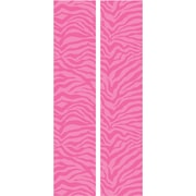 RoomMates® Pink and White Zebra Locker Peel and Stick Wall Decal, 8 3/5in. x 40in.
