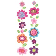 RoomMates® Flower Stripe Locker Peel and Stick Wall Decal, 8 3/5in. x 40in.