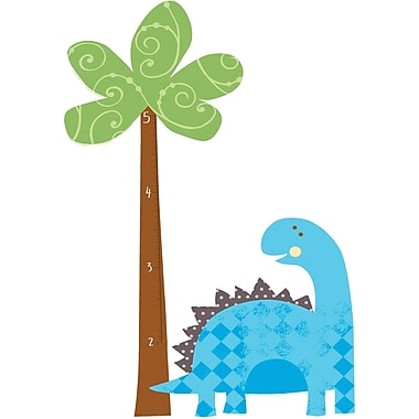 RoomMates® Babysaurus Peel and Stick Growth Chart Wall Decal, 27in. x 40in., 18in. x 40in.