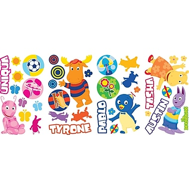 RoomMates® Nickelodeon Backyardigans Peel and Stick Wall Decal, 10in. x 18in.