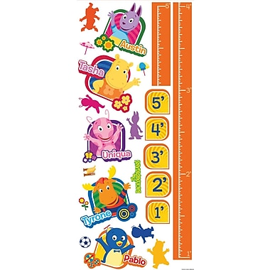 RoomMates® Nickelodeon Backyardigans Peel and Stick Growth Chart, 18in. x 40in.