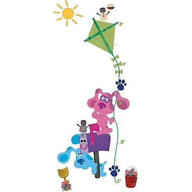 RoomMates® Blue's Clues Peel and Stick Growth Chart, 10in. x 18in., 9in. x 40in.