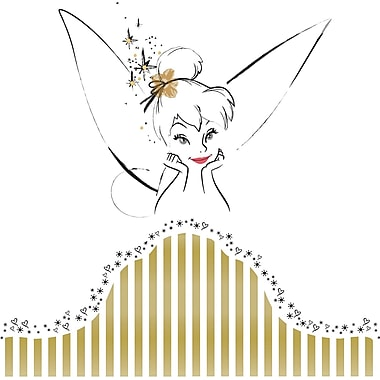 RoomMates® Disney Fairies - Tinker Bell Headboard Peel and Stick Giant Wall Decal, 18in. x 40in.