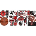 RoomMates® Texas Tech University® Peel and Stick Wall Decal, 10in. x 18in.