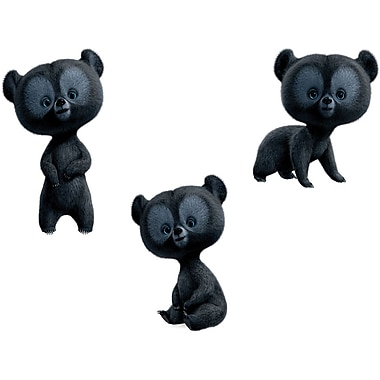 RoomMates® Brave Three Brother Bears Peel and Stick Giant Wall Decal, 18in. x 40in.