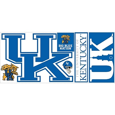RoomMates® University of Kentucky® Giant Wall Decal, 18