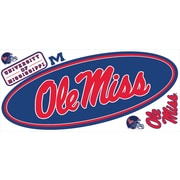 RoomMates® University of Mississippi® Peel and Stick Giant Wall Decal, 18 x 40