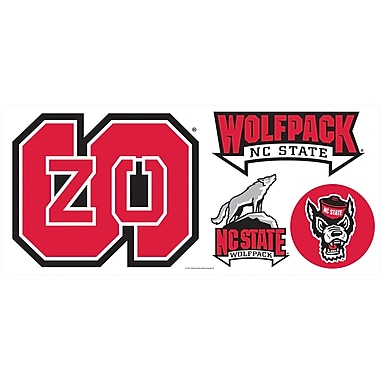 RoomMates® North Carolina State University® Peel and Stick Giant Wall Decal, 18in. x 40in.