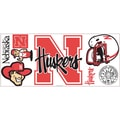 RoomMates® University of Nebraska™ Peel and Stick Giant Wall Decal, 18in. x 40in.