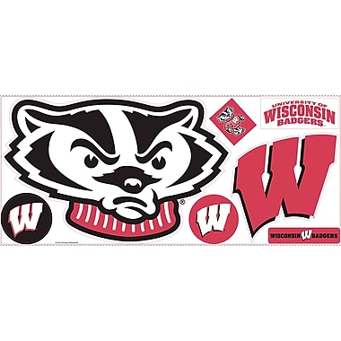 RoomMates® University of Wisconsin® Peel and Stick Giant Wall Decal, 18in. x 40in.