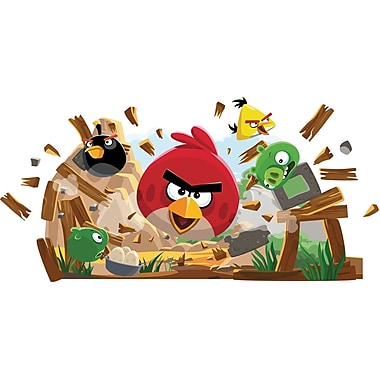 RoomMates® Angry Birds Peel and Stick Giant Wall Decal, 18