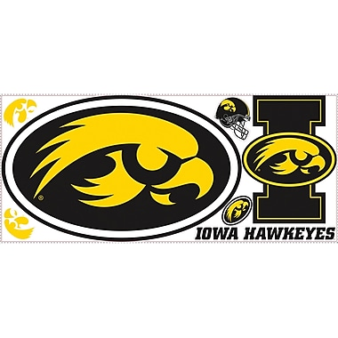 RoomMates® University of Iowa® Peel and Stick Giant Wall Decal, 18in. x 40in.
