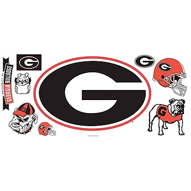 RoomMates® University of Georgia® Peel and Stick Giant Wall Decal, 18in. x 40in.