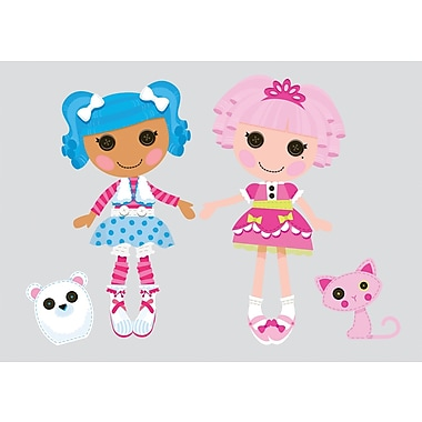 RoomMates® Lalaloopsy Peel and Stick Giant Wall Decal, 18in. x 40in., 9in. x 40in.