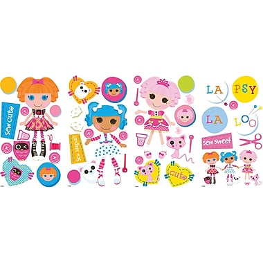 RoomMates® Lalaloopsy Peel and Stick Wall Decal, 10in. x 18in.