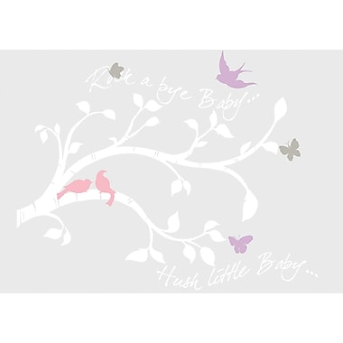 RoomMates® Rock-A-Bye Branches Peel and Stick Giant Wall Decal, 18in. x 40in.