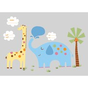 RoomMates® Jungle Animal New Baby Peel and Stick MegaPack Wall Decal, 27 x 40