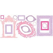 "RoomMates® Pink and Purple Frames Peel and Stick Wall Decal, 18"" x 40"""