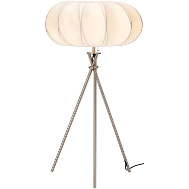 Adesso® 4244-22 Cloud Table Lamp, 1 x 60 W, Satin Steel