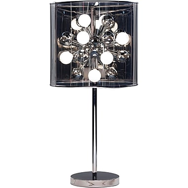 Adesso® 3260-22 Starburst Table Lamp, 12 x 25 W, Steel