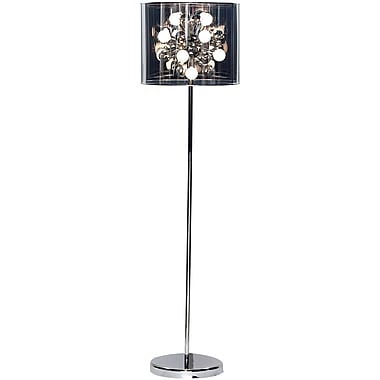Adesso® 3261-22 Starburst Floor Lamp, 12 x 25 W, Chrome
