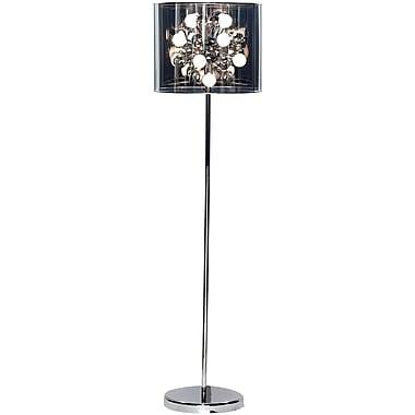 Adesso® 3261-22 Starburst Floor Lamp, 12 x 25 W, Chrome